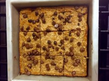 Blondies with tray